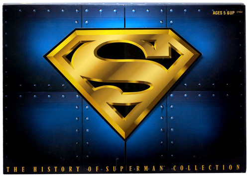 DC The History of Superman Action Figure 3-Pack