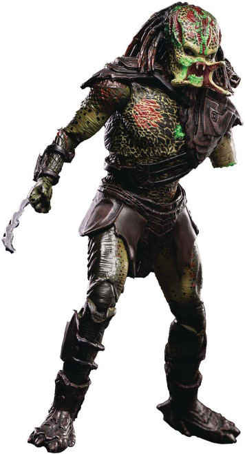 Predators Battle Damage Berserker Predator Exclusive Action Figure (Pre-Order ships March)
