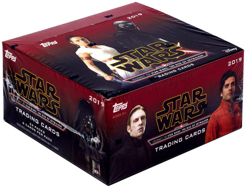 Topps Journey to Star Wars: The Rise of Skywalker Trading Card RETAIL Box [24 Packs]