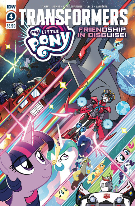 IDW Transformers & My Little Pony #4 of 4 Comic Book