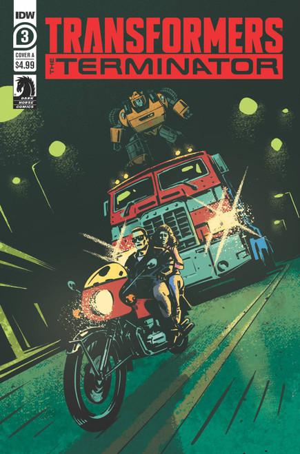 IDW Transformers Vs. Terminator #3 of 4 Comic Book