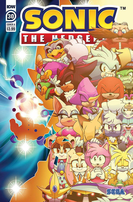 IDW Sonic The Hedgehog #30 Comic Book