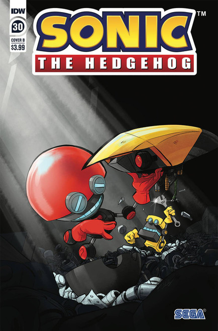 IDW Sonic The Hedgehog #30 Comic Book [Diana Skelly Variant Cover B]