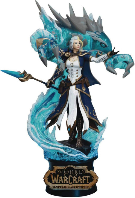 World of Warcraft D-Stage Jaina Proudmoore & Water Elemental Statue DS-043