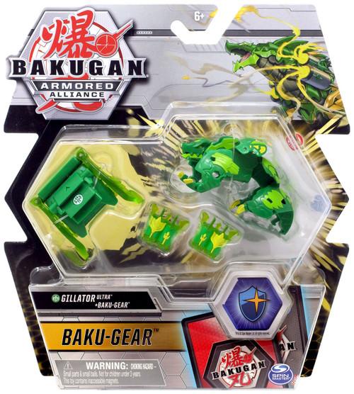 Bakugan Armored Alliance Gillator Ultra + Baku-Gear Set
