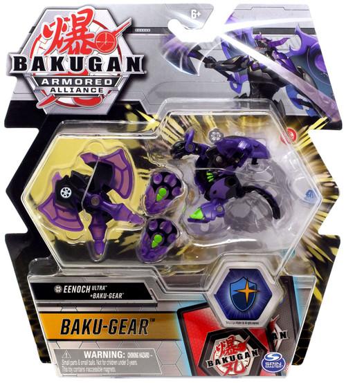 Bakugan Battle Planet Armored Alliance Eenoch Ultra + Baku-Gear Set