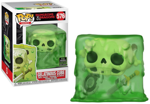 Funko Dungeons & Dragons POP! Games Gelatinous Cube Exclusive Vinyl Figure #576