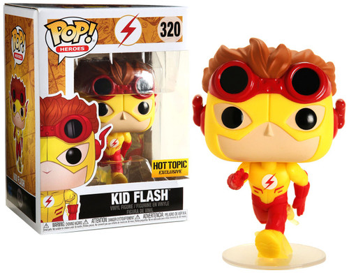 Funko DC The Flash POP! Heroes Kid Flash Exclusive Vinyl Figure #320