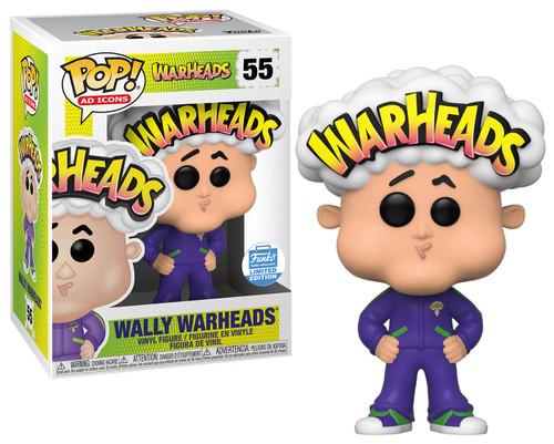 Funko POP! Ad Icons Wally Warheads Exclusive Vinyl Figure #55