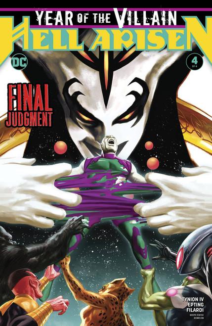 DC Year Of The Villain Hell Arisen #4 Comic Book