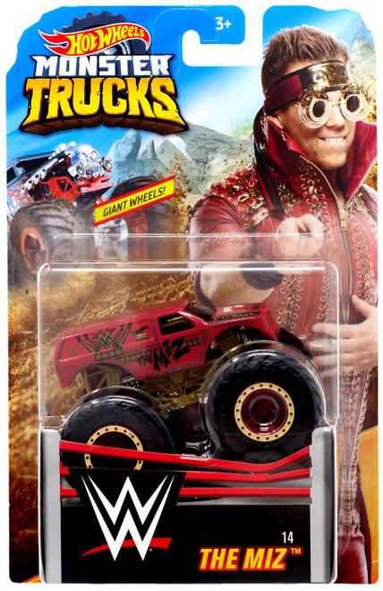 Hot Wheels Monster Trucks WWE The Miz Diecast Car