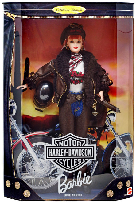 Harley-Davidson Series 2 Barbie Doll [Damaged Package]