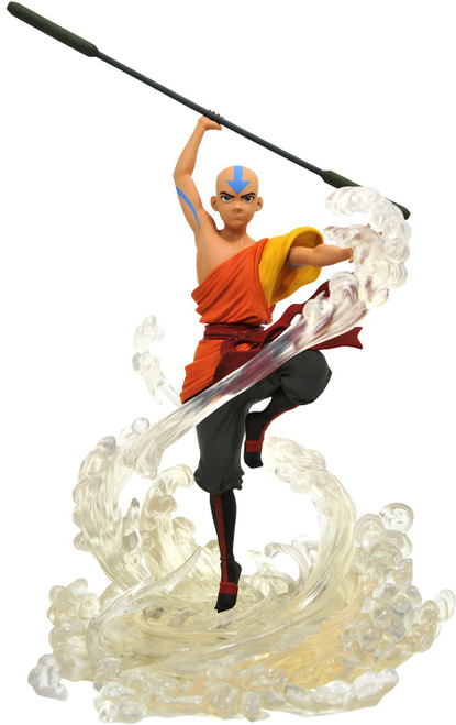 Avatar the Last Airbender Gallery Aang 11-Inch Collectible PVC Statue