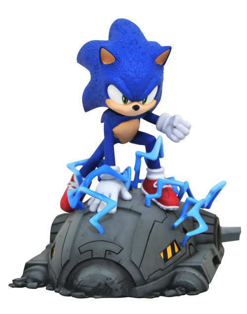 Sonic The Hedgehog Sonic Statue [Movie Version] (Pre-Order ships October)