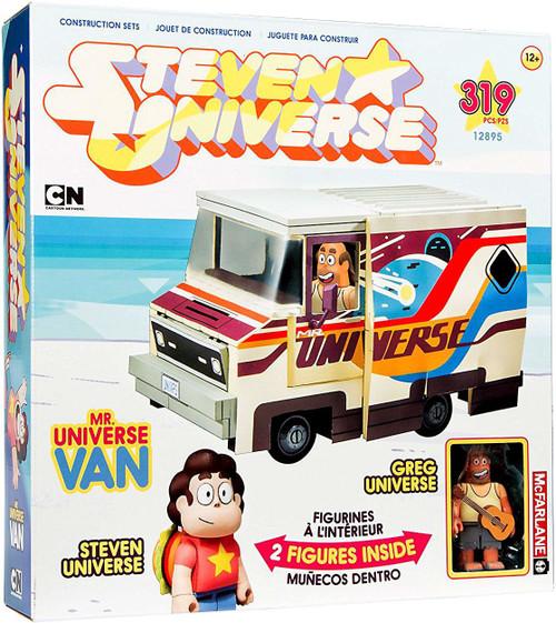 McFarlane Toys Steven Universe Greg Universe & Mr. Universe Van Large Construction Set [Damaged Package]