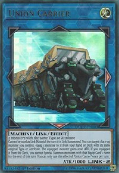 YuGiOh Duel Overload Ultra Rare Union Carrier DUOV-EN009
