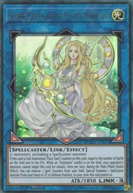YuGiOh Duel Overload Ultra Rare Selene, Queen of the Master Magicians DUOV-EN014