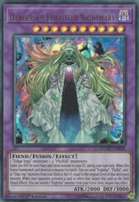 YuGiOh Duel Overload Ultra Rare Dangerous Frightfur Nightmary DUOV-EN038