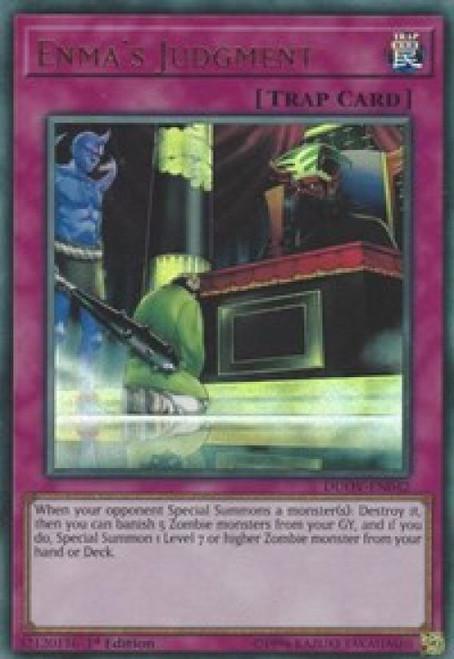 YuGiOh Duel Overload Ultra Rare Enma's Judgment DUOV-EN042