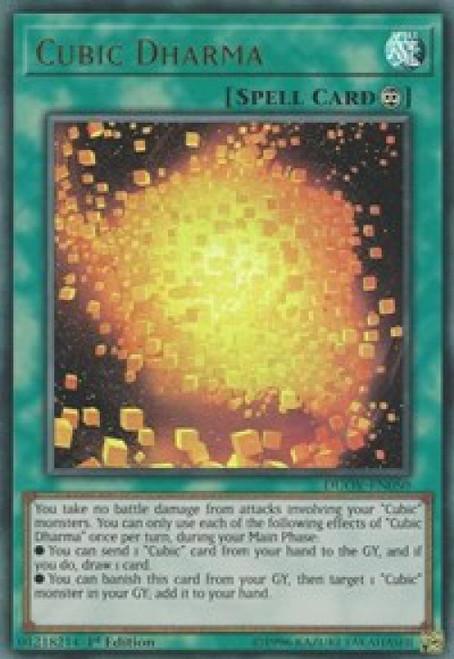 YuGiOh Duel Overload Ultra Rare Cubic Dharma DUOV-EN050