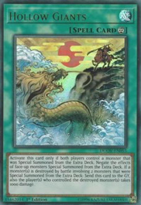 YuGiOh Duel Overload Ultra Rare Hollow Giants DUOV-EN055