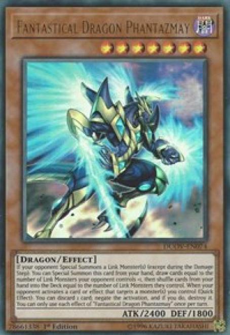 YuGiOh Duel Overload Ultra Rare Fantastical Dragon Phantazmay DUOV-EN074