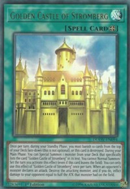 YuGiOh Duel Overload Ultra Rare Golden Castle of Stromberg DUOV-EN094