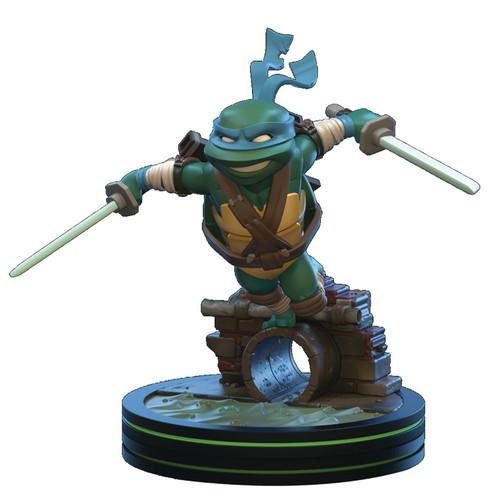 Teenage Mutant Ninja Turtles Q-Fig Leonardo 5-Inch Figure Diorama