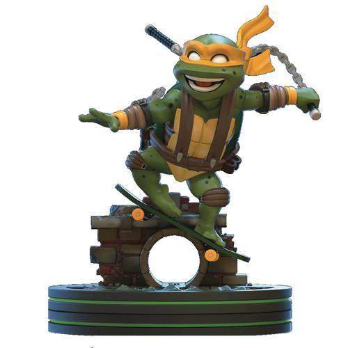 Teenage Mutant Ninja Turtles Q-Fig Michelangelo 5-Inch Figure Diorama