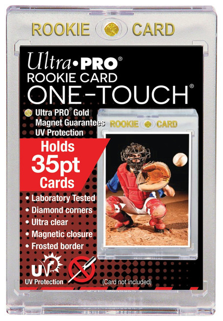 Ultra Pro Card Supplies UV One-Touch Magnetic Rookie Card Holder [35PT]