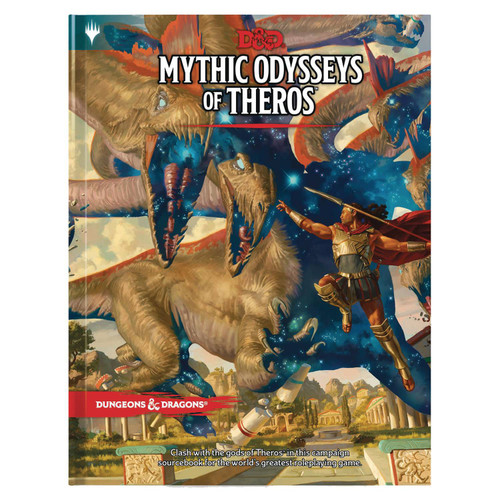Dungeons & Dragons 5th Edition Mythic Odysseys of Theros Hardcover Roleplaying Book [Regular Cover]