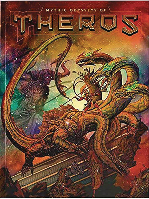 Dungeons & Dragons 5th Edition Mythic Odysseys of Theros Hardcover Roleplaying Book [Alternate Cover]