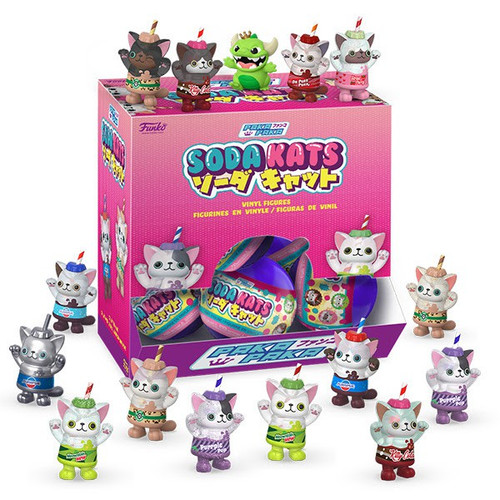 Funko Paka Paka Mini Figure Soda Kats Mystery Box [18 Packs] (Pre-Order ships April)