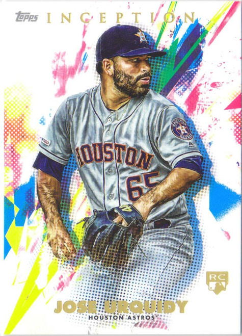 MLB 2020 Topps Inception Jose Urquidy Single Sports Card #79 [Rookie Card]