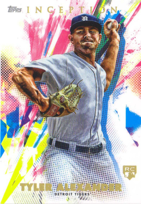 MLB 2020 Topps Inception Tyler Alexander Single Sports Card #88 [Rookie Card]