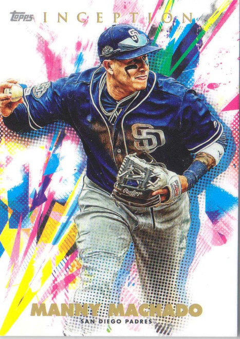 MLB 2020 Topps Inception Manny Machado Single Sports Card #65
