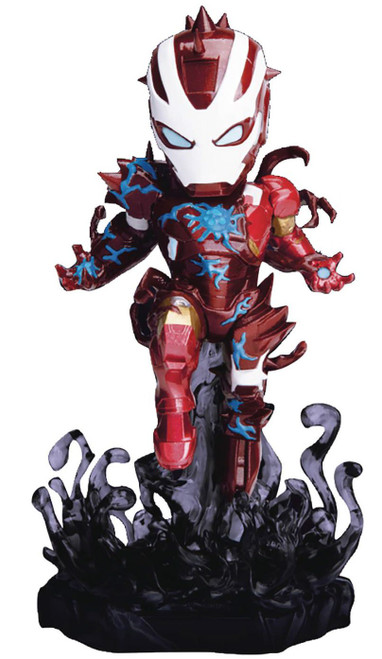 Marvel Mini Egg Attack Maximum Venom Venomized Iron Man 4-Inch Statue DS-018