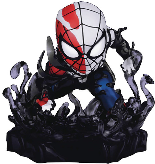 Marvel Mini Egg Attack Maximum Venom Venomized Spider-Man 4-Inch Statue DS-018