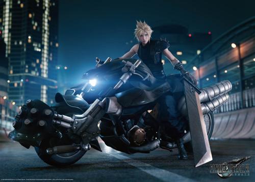 Final Fantasy VII Remake Cloud on Hardy Daytona 5.5-Inch 1,000-Piece Puzzle