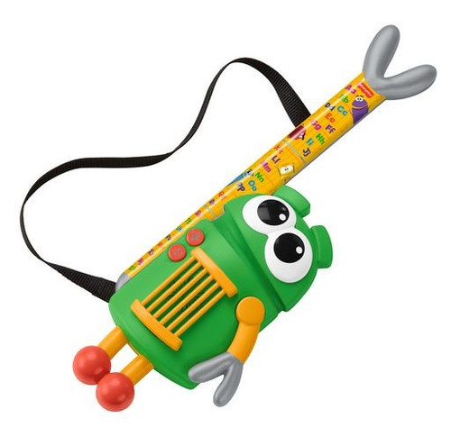 Fisher Price StoryBots A to Z Letter Rock Star Guitar Toy