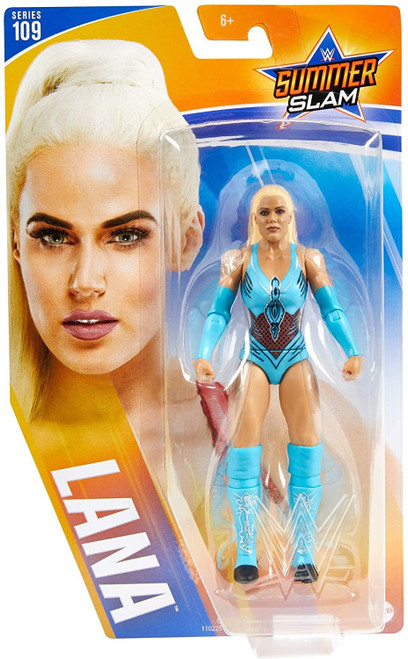WWE Wrestling Series 109 Lana Action Figure [Blue Outfit, Chase Version]