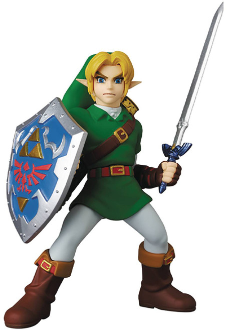 The Legend of Zelda The Minish Cap UDF Ultra Detail Figure Link 3-Inch Figure [Ocarina of Time] (Pre-Order ships April)