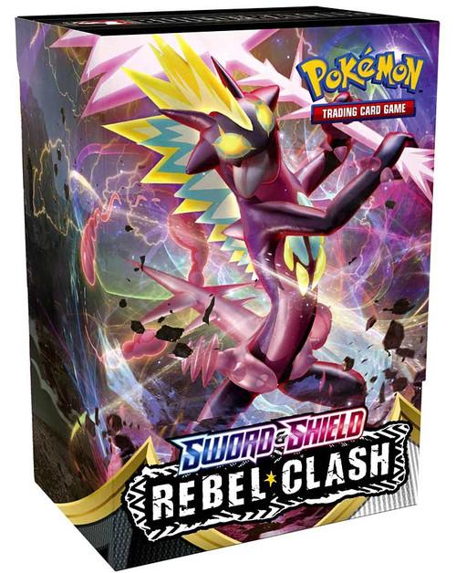 Pokemon Trading Card Game Sword & Shield Rebel Clash Build & Battle Set [4 Booster Packs & 23-Card Evolution Pack!]