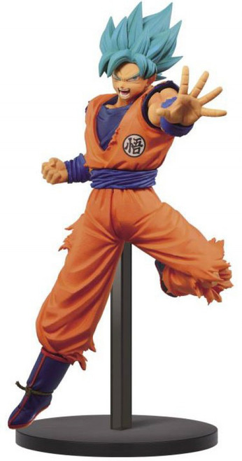 Dragon Ball Super Z-Battle Dragon Ball Z: Buyu Retsuden II Super Saiyan Blue Goku 6.3-Inch Collectible PVC Figure Vol.4