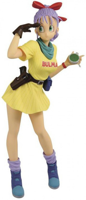 Dragon Ball Glitter & Glamour Bulma 9.8-Inch PVC Figure [Version B, Yellow Dress] (Pre-Order ships November)