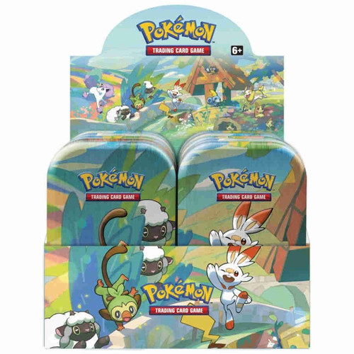 Pokemon Trading Card Game Galar Pals Mini Tin Box [10 Tins]
