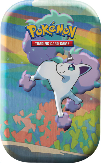Pokemon Trading Card Game Galar Pals Galarian Ponyta Mini Tin [2 Booster Packs & Coin!]