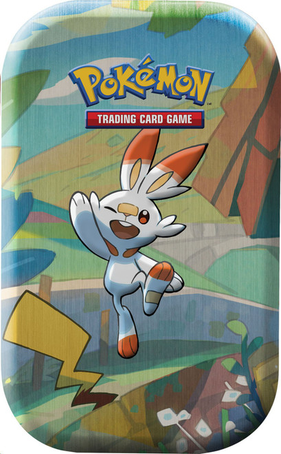 Pokemon Trading Card Game Sword & Shield Galar Pals Scorbunny & Pikachu Mini Tin [2 Booster Packs & Coin!]