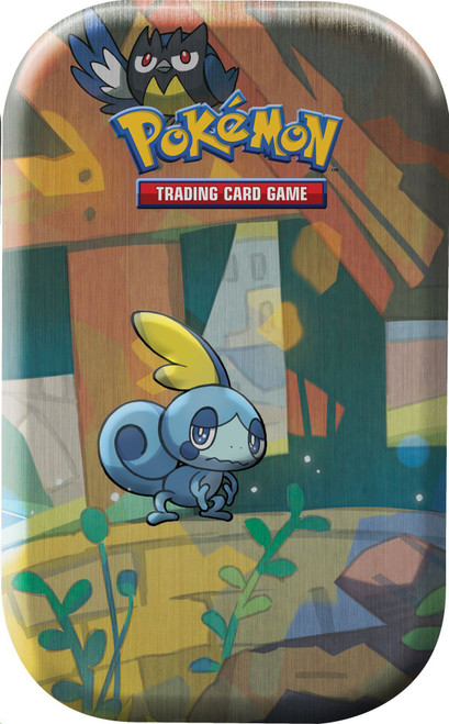 Pokemon Trading Card Game Sword & Shield Galar Pals Sobble & Rookidee Mini Tin [2 Booster Packs & Coin!]