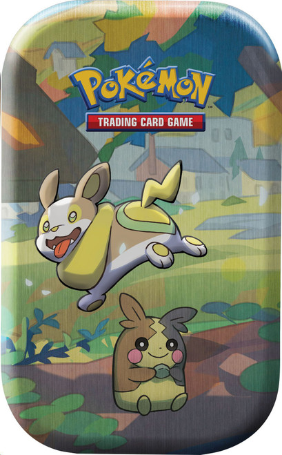 Pokemon Trading Card Game Sword & Shield Galar Pals Yamper & Morpeko Mini Tin [2 Booster Packs & Coin!]